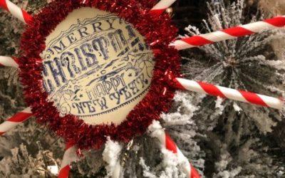 Paper Straw Ornaments