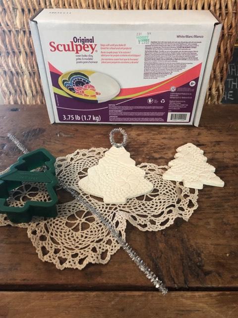 DIY Sculpey Ornaments