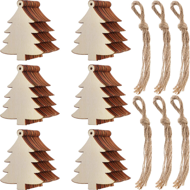 Fairy Maker 10pcs Rustic Christmas Tree Ornaments Natural Burlap Country Xmas Hanging Decorations Mimbarschool Com Ng