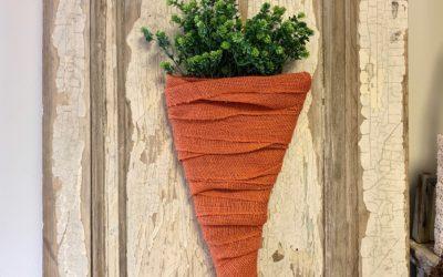 DIY Cardboard Carrot