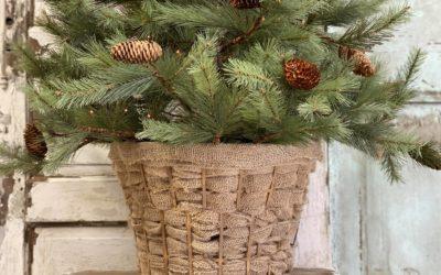Dollar Tree Laundry Basket Makeover