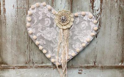 Wire Hanger Heart
