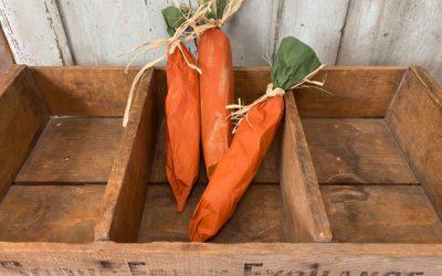 DIY Paper Carrot Goody Bag