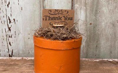 DIY Dollar Tree Pumpkin Box