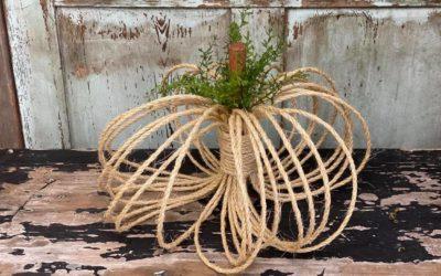 Sisal Rope Pumpkin
