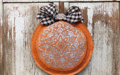 DIY Pumpkin Using Texture By DecoArt