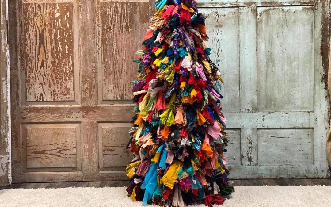 DIY Rag Tree